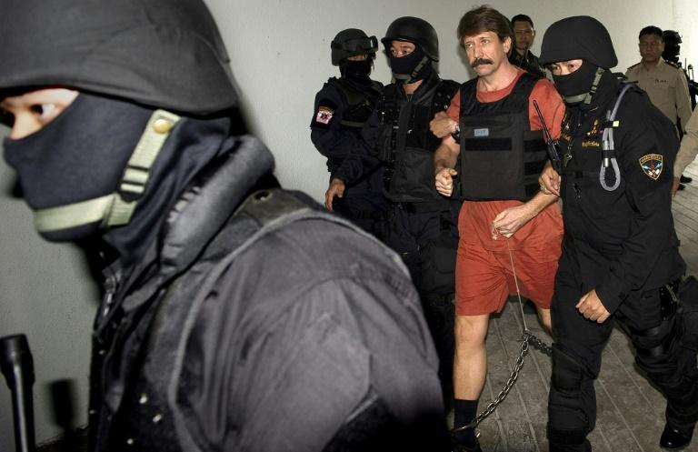 Russian arms dealer Viktor Bout is taking to a criminal court in Bangkok in 2010