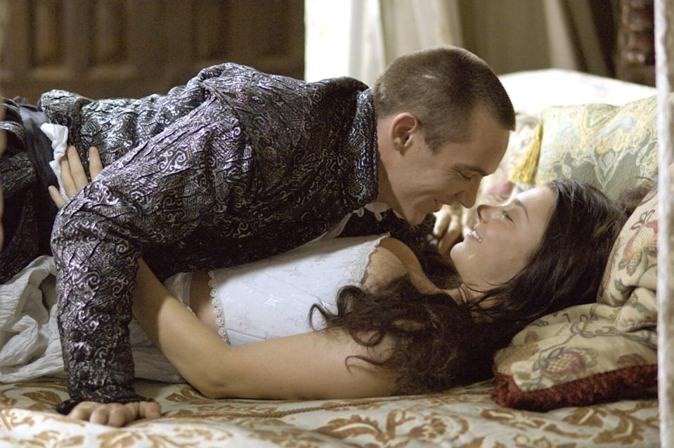 """<p><strong>The Tudors</strong> is set in 16th-century England's royal court. Its plot revolves around controversy, betrayal, and sex.</p> <p><a href=""""https://www.netflix.com/title/70136129"""" class=""""link rapid-noclick-resp"""" rel=""""nofollow noopener"""" target=""""_blank"""" data-ylk=""""slk:Watch The Tudors on Netflix now"""">Watch <strong>The Tudors</strong> on Netflix now</a>. </p>"""