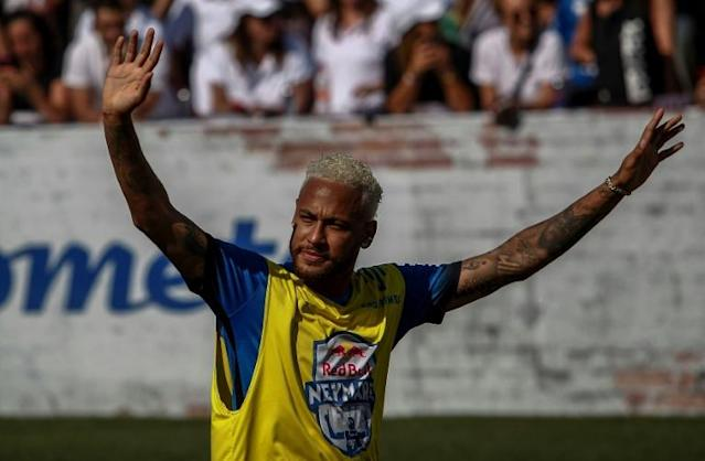 Transfer speculation swirling around Neymar is 'normal' for a star player, says Paris Saint-Germain great Youri Djorkaeff (AFP Photo/Miguel SCHINCARIOL)