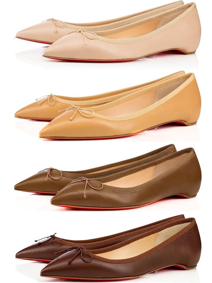 5 Shades of Nude: Louboutin Redefines Color With Les