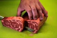 Coming soon to a 3D printer near you: Plant-based steaks