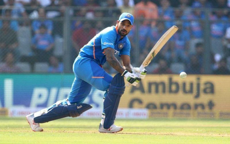 Shikhar Dhawan compiled a magnificent 74