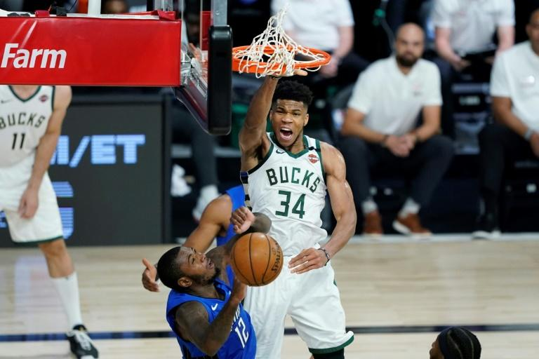 Bucks bounce back to level NBA series with Magic, Rockets, Heat win