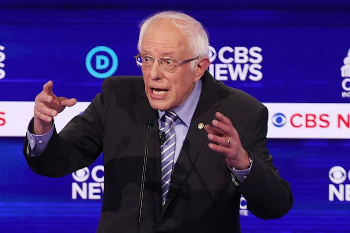 Bernie Sanders. (Win McNamee/Getty Images)