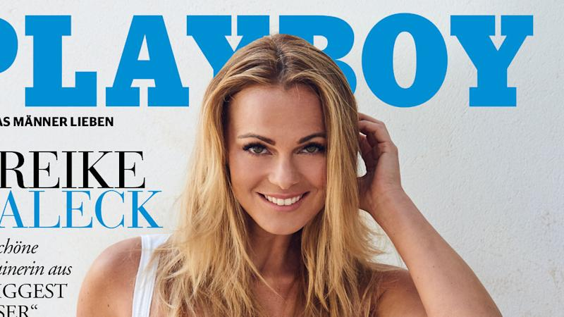 """The Biggest Loser""-Coach Mareike Spaleck zieht im ""Playboy"" blank"