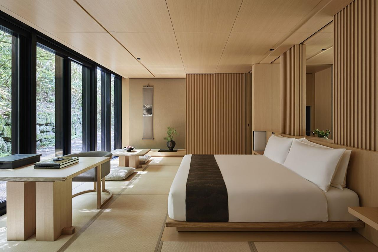 "<p>Hot on the heels of the Rugby World Cup, all eyes will be on Japan once again next year as the Olympics come to Tokyo in July. Just as well, then, that the Aman group recently expanded its portfolio with a new opening in <a href=""https://www.aman.com/resorts/aman-kyoto"" target=""_blank"">Kyoto</a>, a short hop south-west on the speedy bullet train. The legendary hotelier Ian Schrager will also be bringing an outpost of his <a href=""https://www.editionhotels.com/coming-soon/"" target=""_blank"">Edition</a> hotels to Tokyo's Toranomon district in the summer. The Olympic action may be in the capital, but there's plenty more to see in this island nation: ski slopes in Niseko, volcanic steam baths to bare all at, geisha schools where you can be a maiko (apprentice) and traditional ryokan inns.</p>"