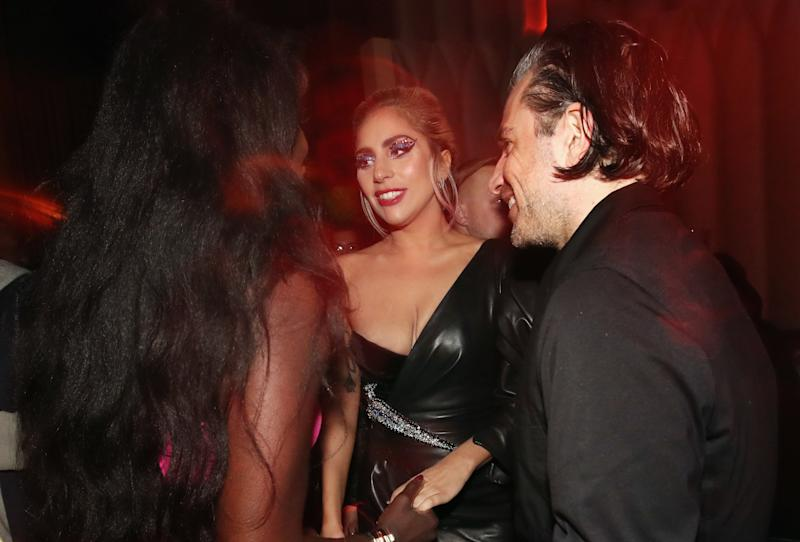 Gaga and Christian Carino attend Interscope's Grammy after party in February 2017. (Christopher Polk via Getty Images)
