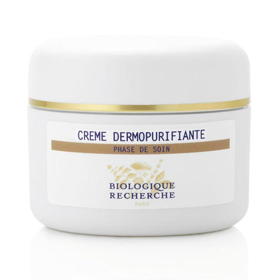 """<p>Listen up, oily and acne-prone skin types: You still need to make sure you're moisturizing, even if you think your skin already has a surplus of moisture. """"This is my go-to for imbalanced skin that is <a href=""""https://www.allure.com/gallery/the-best-treatments-for-every-kind-of-acne?mbid=synd_yahoo_rss"""" rel=""""nofollow noopener"""" target=""""_blank"""" data-ylk=""""slk:prone to breakouts"""" class=""""link rapid-noclick-resp"""">prone to breakouts</a>,"""" says Idriss. """"It works wonderfully in regulating oil production, reducing inflammation and redness, while delivering the moisture your skin requires.""""</p> <p><strong>$94</strong> (<a href=""""https://shoprescuespa.com/creme-dermopurifiante.html?___"""" rel=""""nofollow noopener"""" target=""""_blank"""" data-ylk=""""slk:Shop Now"""" class=""""link rapid-noclick-resp"""">Shop Now</a>)</p>"""