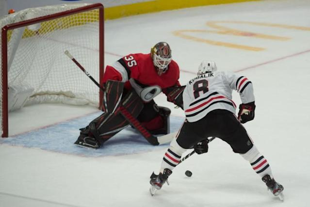 NHL: Chicago Blackhawks at Ottawa Senators