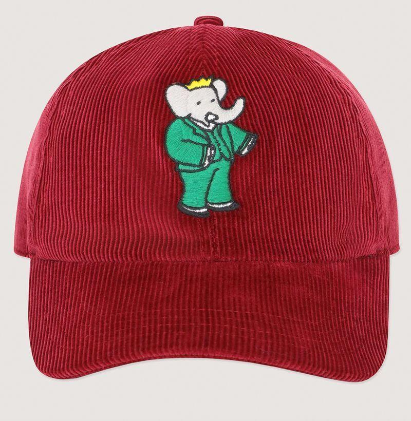 """<p><strong>Rowing Blazers</strong></p><p>rowingblazers.com</p><p><strong>$48.00</strong></p><p><a href=""""https://rowingblazers.com/collections/babar/products/burgundy-cord-babar-hat"""" rel=""""nofollow noopener"""" target=""""_blank"""" data-ylk=""""slk:Buy"""" class=""""link rapid-noclick-resp"""">Buy</a></p>"""