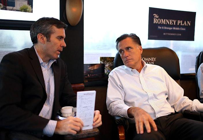Kevin Madden with Romney
