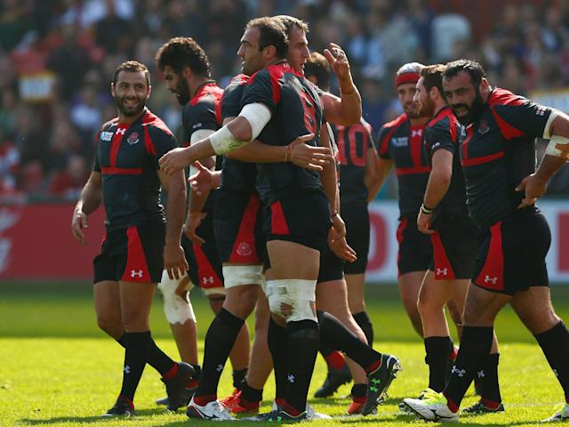 Georgia will play Wales in the second of their four autumn international matches at the Principality Stadium: Getty