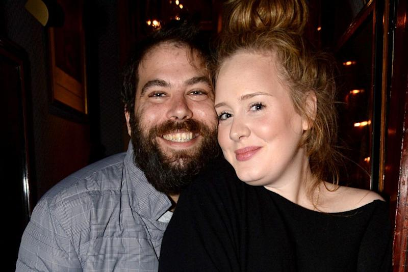 Simon Konecki and Adele | Richard Young/REX/Shutterstock