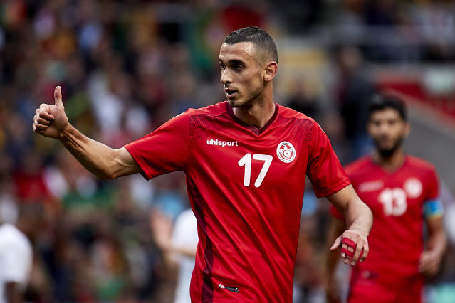 <p>Ellyes Skhiri is part of a Tunisia squad worth a reported €58m. </p>