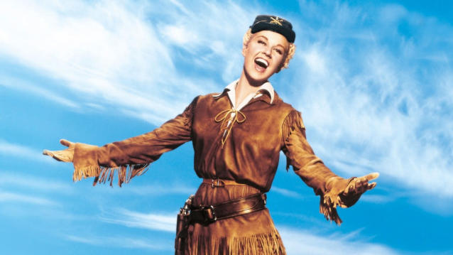 Doris Day in 'Calamity Jane'. (Credit: Warner Bros)