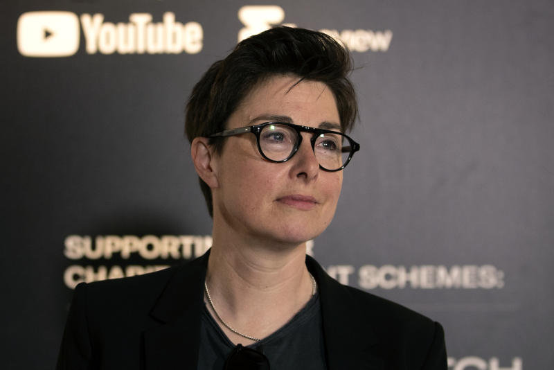 Presenter Sue Perkins at the 2019 Edinburgh TV Festival.
