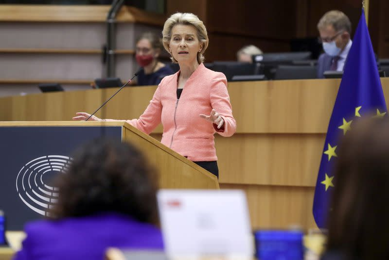 EU Commission to propose upgraded 2030 climate target, bloc's head says