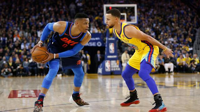 The Thunder was one of the Warriors' benchmarks for much of the decade, but that era is over after Russell Westbrook's trade to the Rockets.