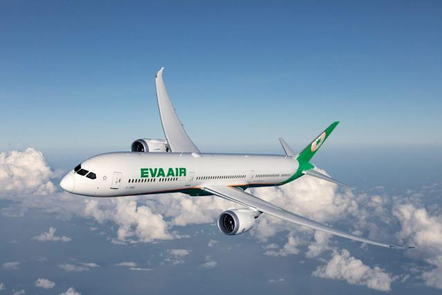 <p> EVA Air ranks third in the list of the top 20 safest airlines announced by the AirlineRatings (Courtesy of EVA Air)</p>