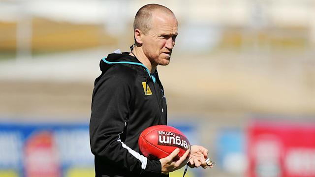 AFL team Port Adelaide are set to lose high performance manager Darren Burgess to Arsenal.