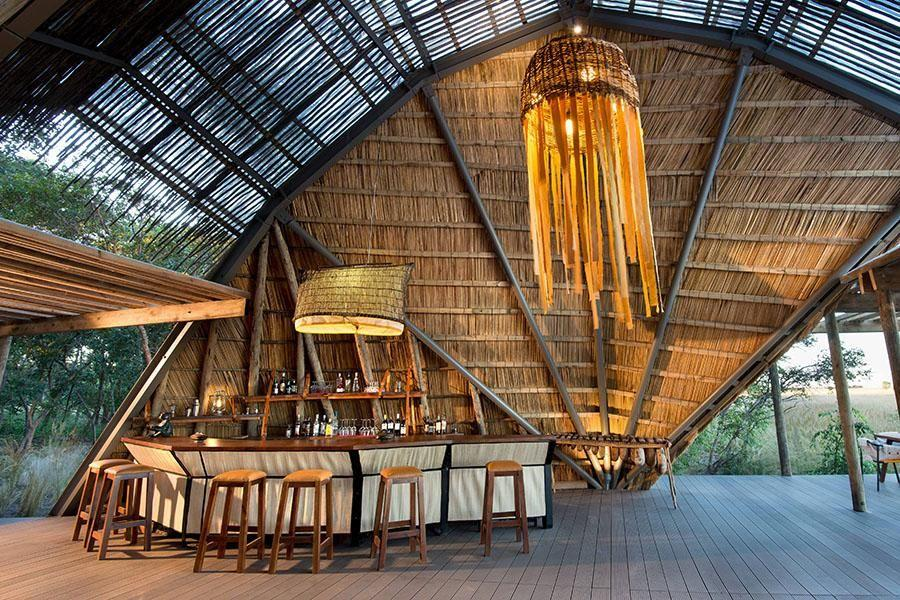 <p>Hidden in Zambia's Liuwa Plains National Park near the Zambezi River is King Lewanika, featuring an incredible abstract lodge using only thatch, canvas, and steel. Designed by architects Silvio Rech and Lesley Carstens, this stunning property—with just six sleek tented rooms—is a gem for the adventurous traveller.</p>