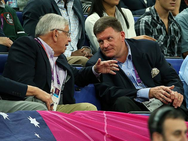 If you're looking to blame two people, Seattle denizens have David Stern and Clay Bennett to offer. (Getty Images)