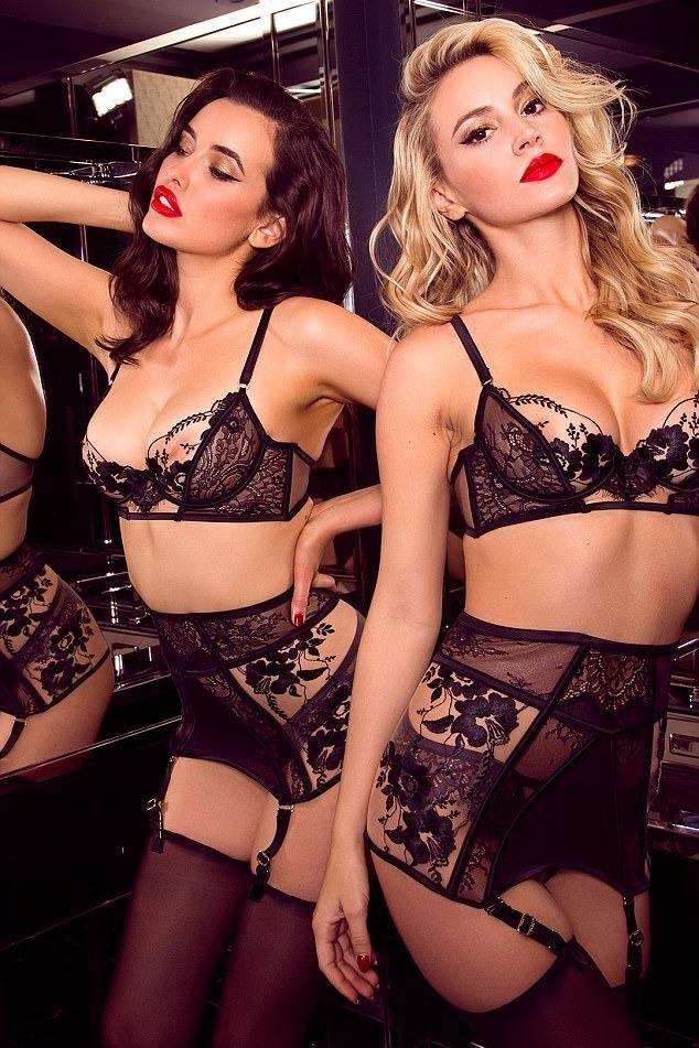 This is the offending ad. Photo: Honey Birdette