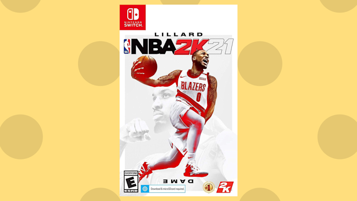 Save nearly 70 percent on NBA 2K21 for Memorial Day! (Photo: Amazon)