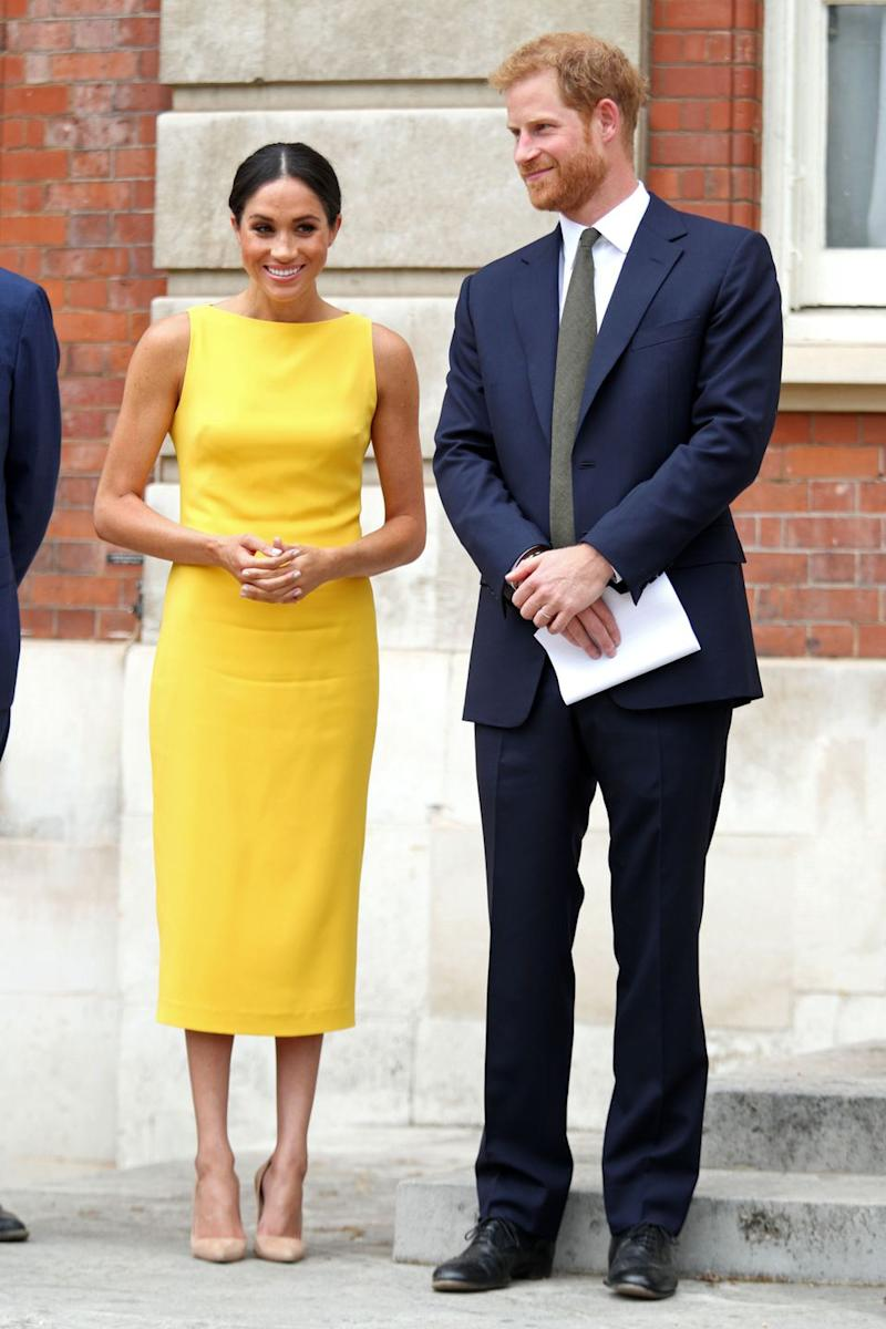 5e89f975b6560 You Can Score Kate Middleton and Meghan Markle s Yellow Dresses for ...