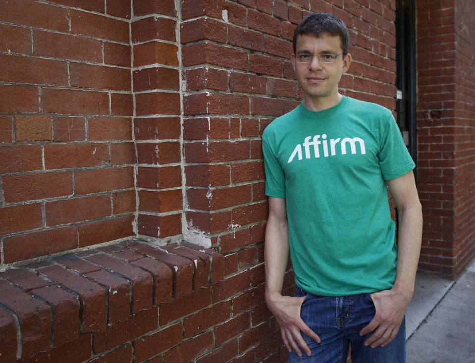 """Max Levchin, a Ukrainian computer scientist, poses for a portrait in San Francisco, Calif., on Friday, July 17, 2014. Levchin, who was the co-founder of PayPal and is the CEO of """"Affirm"""", a financial services company offering consumer credit at the point of sale, and chairman of Glow, a women's reproductive health app. (John Green/Bay Area News Group) (Photo by MediaNews Group/Bay Area News via Getty Images)"""