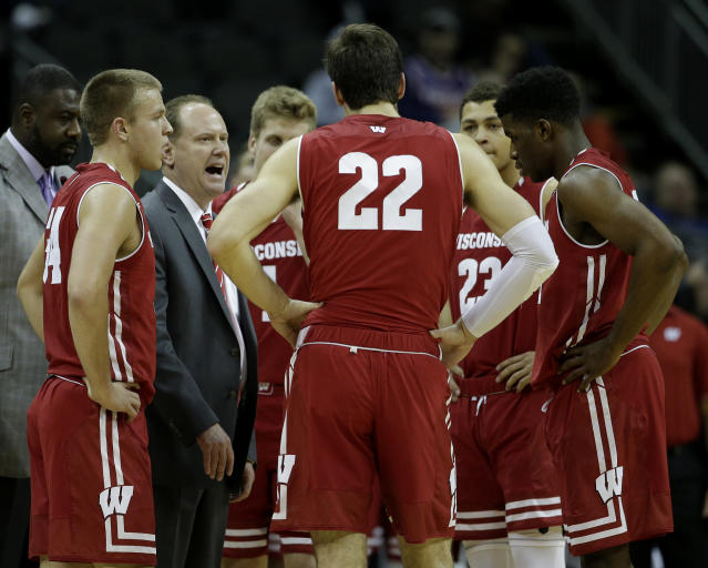Wisconsin's 19-year NCAA tournament streak is in major trouble with the Badgers off to a 4-6 start. (AP)