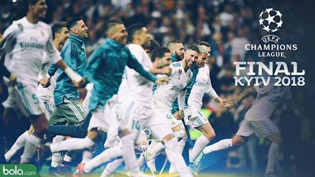 Real Madrid bertemu Liverpool di final Liga Champions.