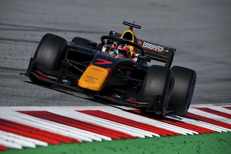 Tsunoda captures maiden F2 pole at Red Bull Ring
