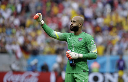 Team USA has relied heavily on goalkeeper Tim Howard the past two World Cups. (AP)