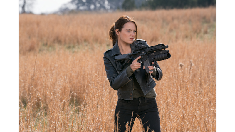 "Emma Stone in ""Zombieland: Double Tap"" (Photo: Sony Pictures)"