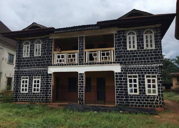 A family house in an Igbo village