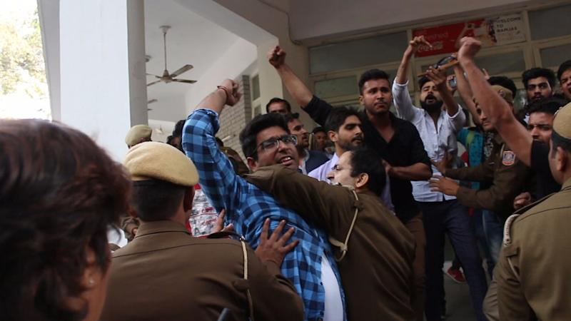 ABVP Leader Booked for Assaulting NSUI Member at Delhi University