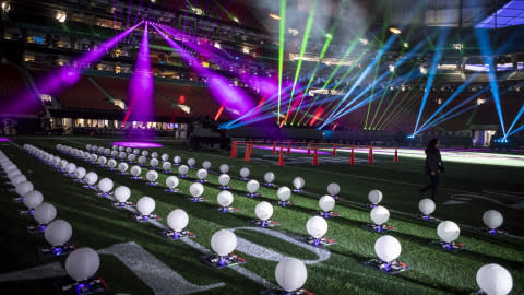 Intel Drone Light Show and Intel True View Technology Enhance Pepsi Super Bowl LIII Halftime Show and Super Bowl LIII Viewing Experience