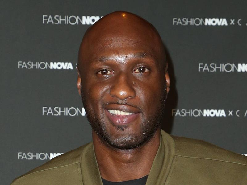 Lamar Odom's son found out about his engagement on Instagram