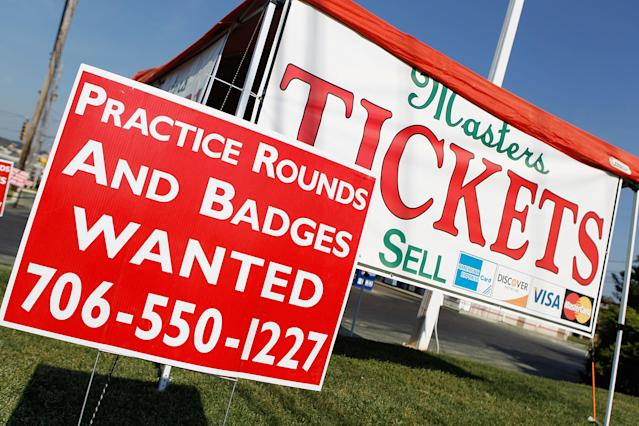 A few more Masters tickets might be available for the public next year. (Photo by Scott Halleran/Getty Images)
