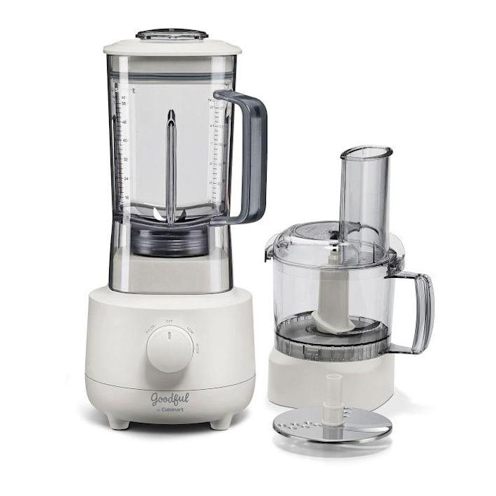 """<p>amazon.com</p><p><strong>$151.99</strong></p><p><a href=""""https://www.amazon.com/Goodful-Cuisinart-BFP700GF-Processor-Blender/dp/B085W49V9B?tag=syn-yahoo-20&ascsubtag=%5Bartid%7C2139.g.19521968%5Bsrc%7Cyahoo-us"""" rel=""""nofollow noopener"""" target=""""_blank"""" data-ylk=""""slk:BUY IT HERE"""" class=""""link rapid-noclick-resp"""">BUY IT HERE</a></p><p>Two gadgets for the price of one, this new release from Cuisinart is both a food processor and a blender, making it a practical gift idea that'll help dad save some room on his kitchen countertop. </p>"""