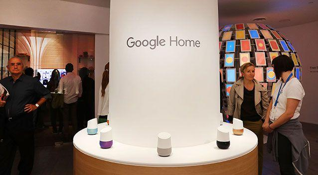 The US Consumer Watchdog said the Google Home could use a home system to monitor people. Source: Getty Images