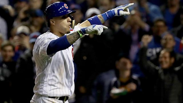The Chicago Cubs edged past the Washington Nationals in MLB thanks to Javier Baez.