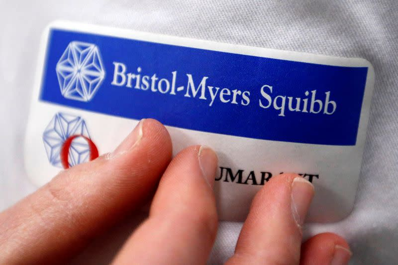 Bristol-Myers reports positive data on cancer treatment acquired in Celgene deal