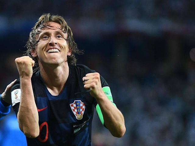 World Cup 2018: Luka Modric revels in 'the perfect match' as his favourite goal helps Croatia down Argentina