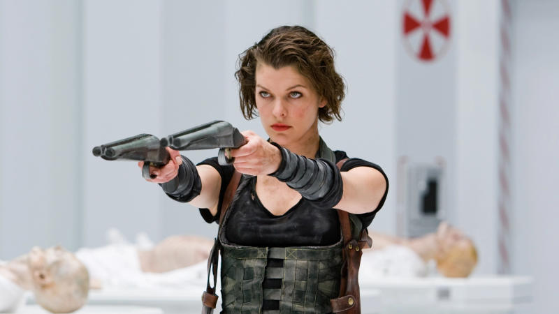 Milla Jovovich in 'Resident Evil: Retribution'. (Credit: Sony)