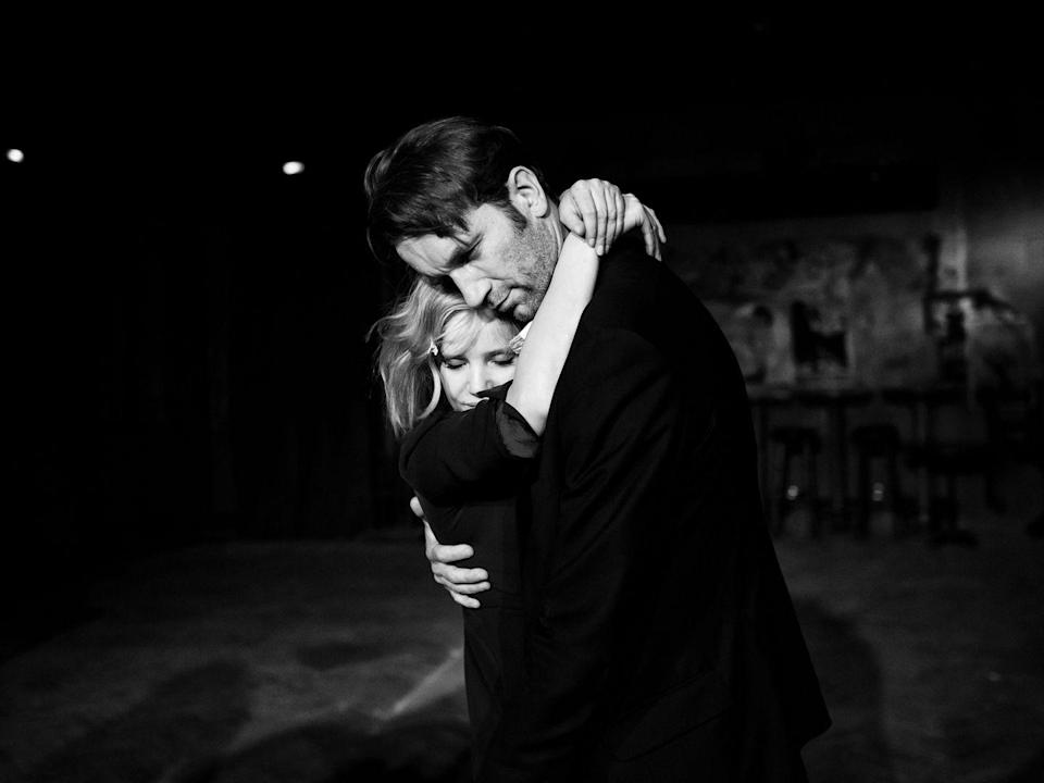 "<p>Love is never black and white, but Pawel Pawlikowki's tale of impossible love is. An achingly romantic tale of star-crossed lovers that just may leave a scar, it's set against the backdrop of the Cold War in 1950s Poland and unfolds through its two leads, Joanna Kulig and Tomasz Kot. If <em>Casablanca</em> had never walked into our bar, we'd be leaving with <em>Cold War</em>. <a class=""link rapid-noclick-resp"" href=""https://www.amazon.com/dp/B07MXM7XVV?tag=syn-yahoo-20&ascsubtag=%5Bartid%7C10056.g.6498%5Bsrc%7Cyahoo-us"" rel=""nofollow noopener"" target=""_blank"" data-ylk=""slk:Watch Now"">Watch Now</a></p>"