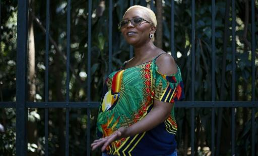 Brazil is home to hundreds of foreign ex-convicts -- like onetime South African drug runner Portia Dliwayo, seen here -- who struggle to survive while completing their parole requirements