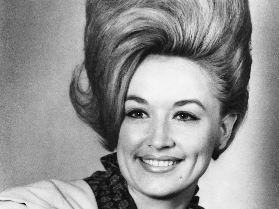 Dolly Parton in 1965 in Nashville, Tennessee.