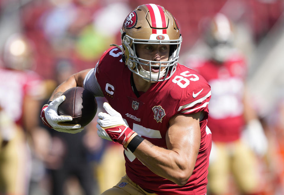 George Kittle with the 49ers.